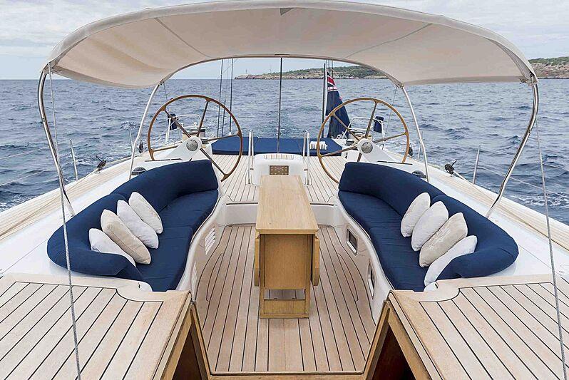 Alexia yacht deck
