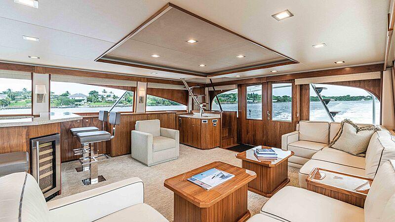 Makara yacht interior