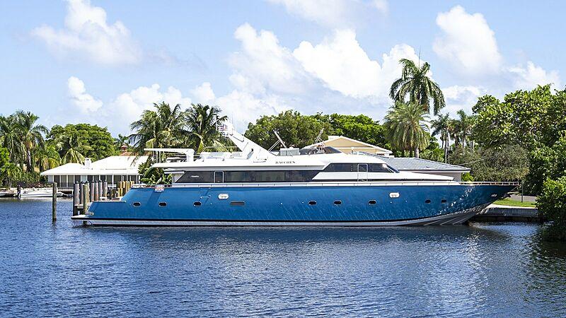 BACCHUS yacht Maiora