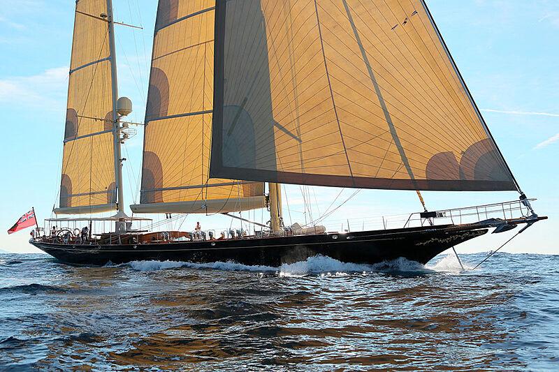 Asgard yacht sailing