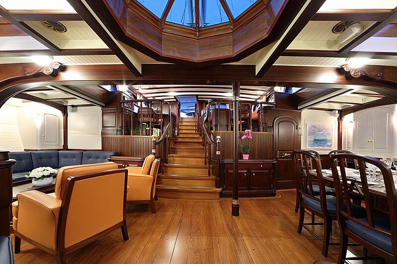Asgard yacht saloon