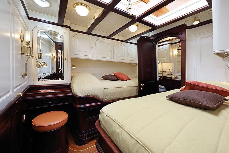 Asgard yacht stateroom