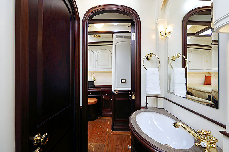 Asgard yacht bathroom