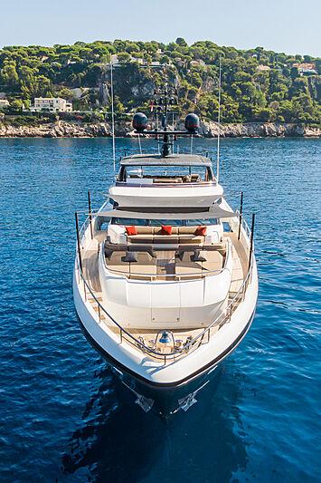Samba yacht anchored