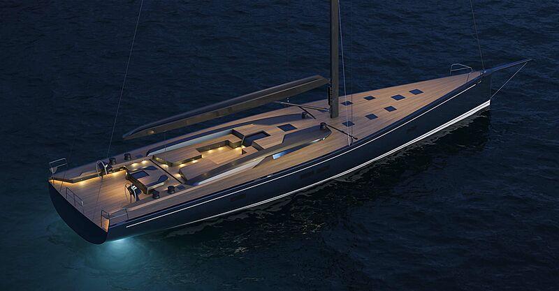 Southern Wind RP-Nauta 100 yacht exterior design