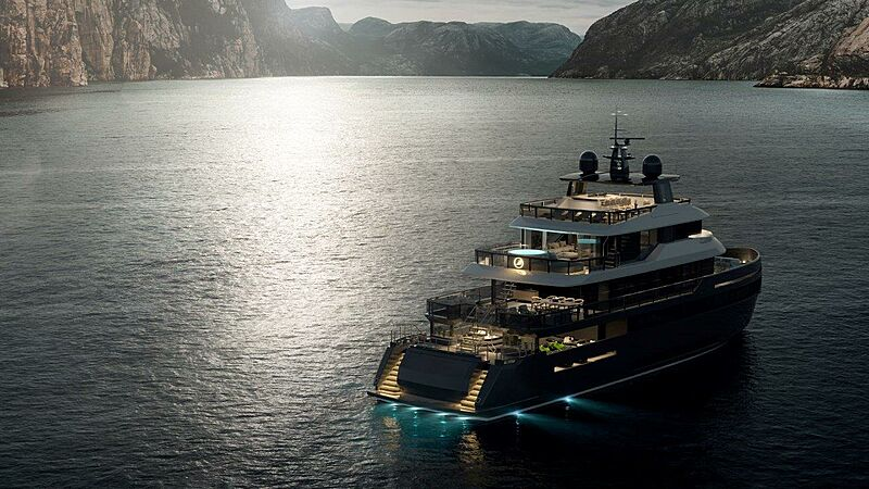 Benetti BYOND yacht exterior design