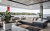 Severin's yacht aft deck