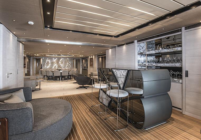 Severin's yacht bar