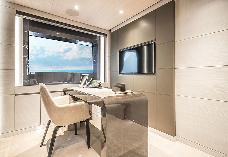 Severin's yacht master office