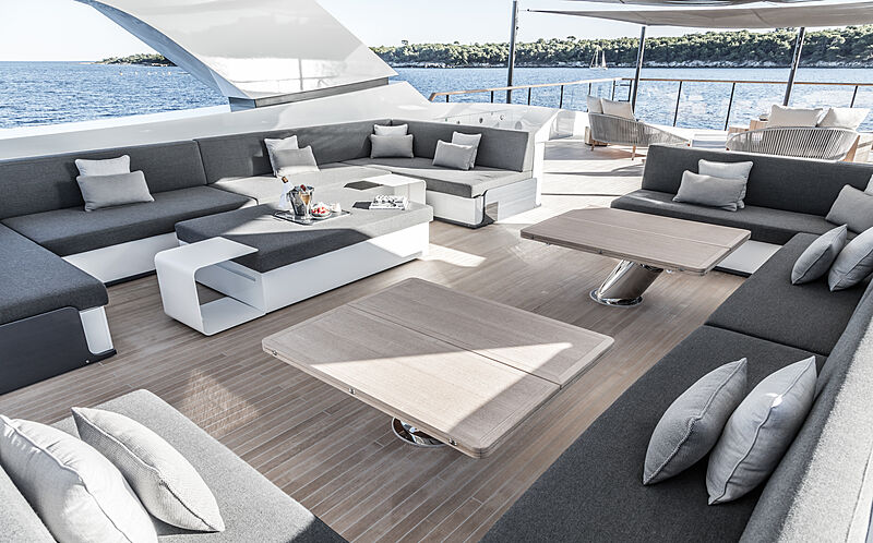 Severin's yacht deck