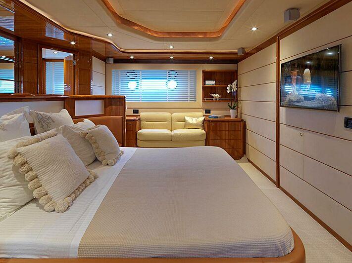Elite yacht master stateroom