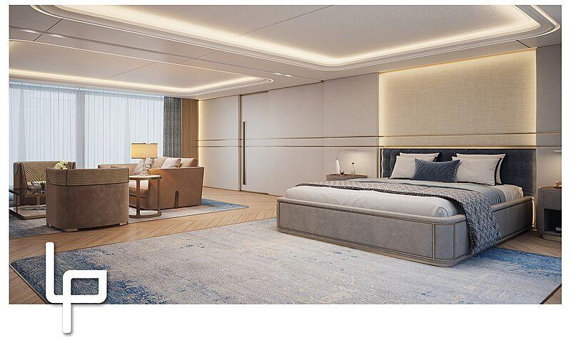 Amels 20003 yacht interior design