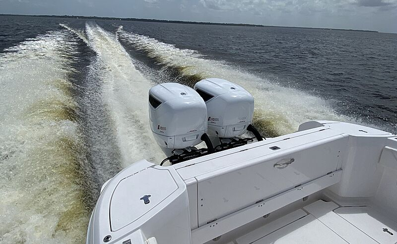 Cox Powertrain CXO300 diesel outboard engine