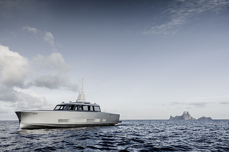 Atlantico yacht cruising