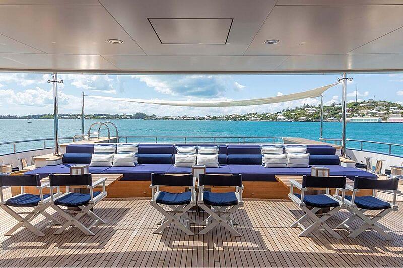 C2 yacht aft deck