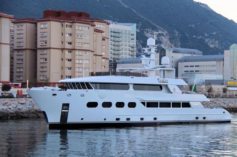 BARON TRENCK yacht Eurocraft Cantieri Navali