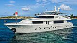 Black Swan yacht cruising