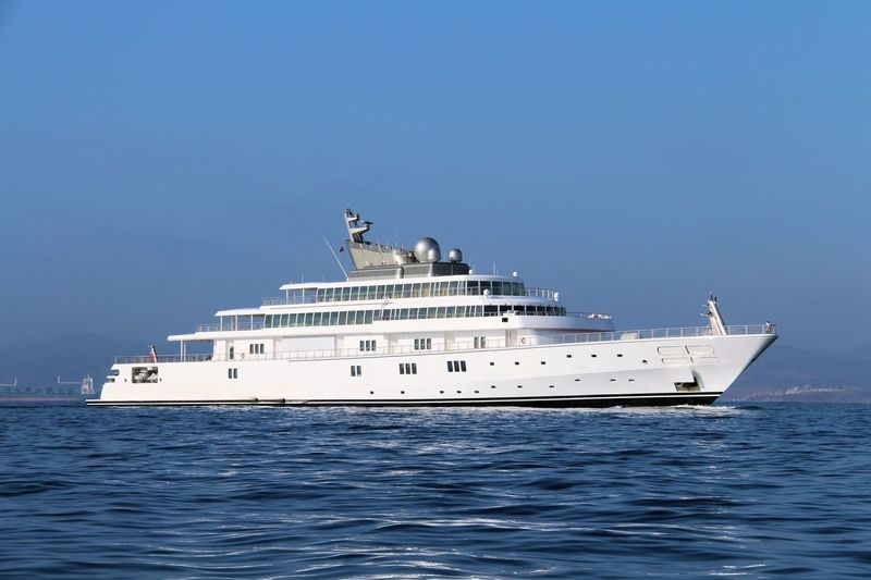 RISING SUN yacht Lürssen