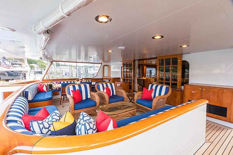 Prediction yacht aft deck