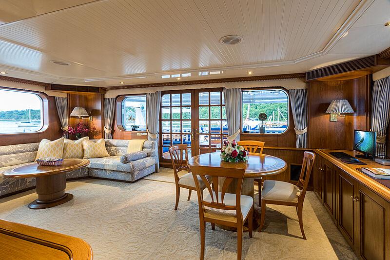 Prediction yacht saloon