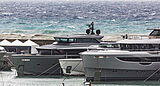 Almax and Rebeca yachts at Genoa Boat Show 2020
