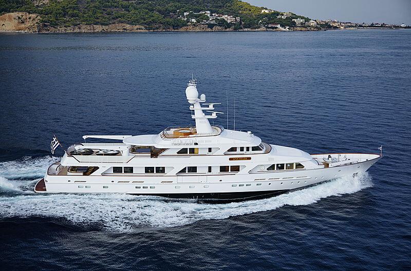ANCALLIA yacht Feadship