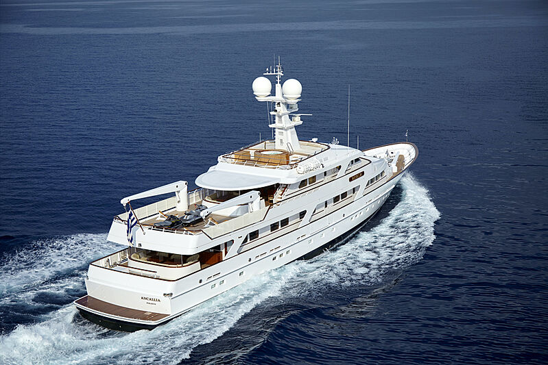 Ancallia yacht cruising