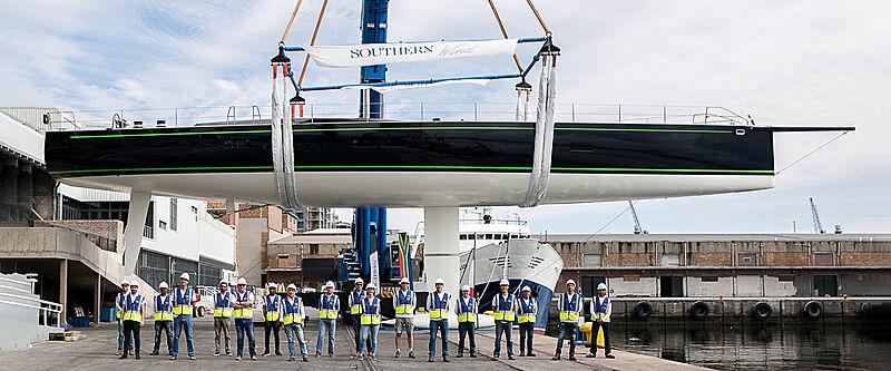 Southern Wind lance le yacht personnalisé  | RP-Nauta 100 | Morgana