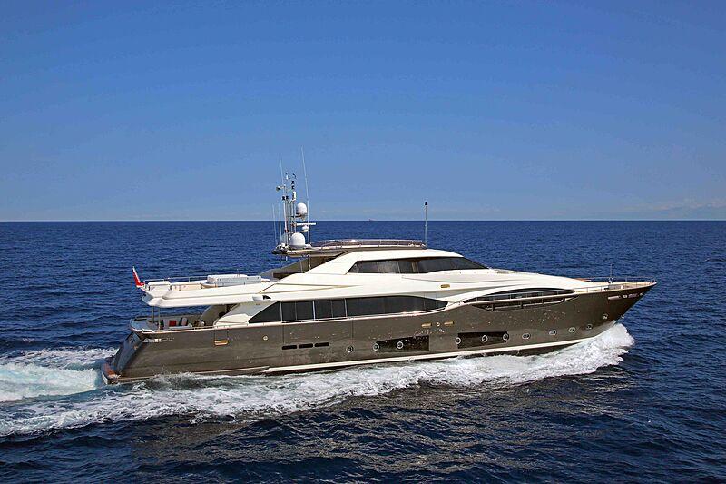 LADY DIA yacht Custom Line