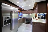 Lady Dia yacht galley