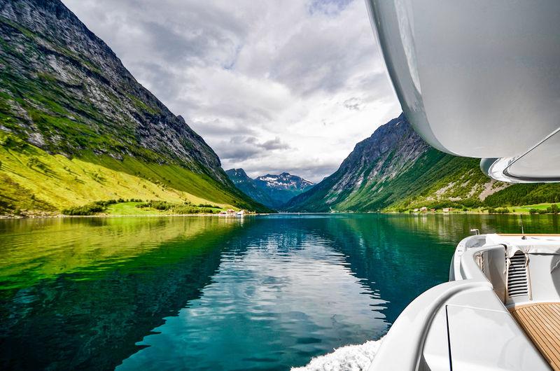 Fjord sighting from Gene Machine