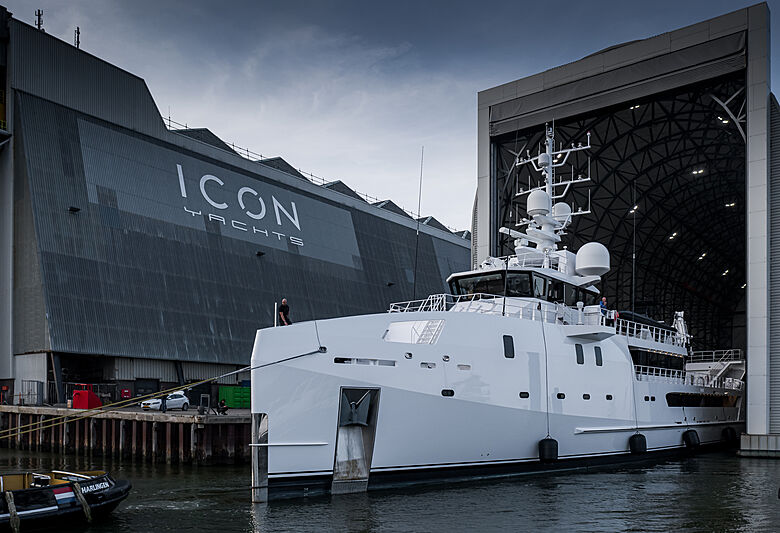 Game Changer yacht relaunched after refit