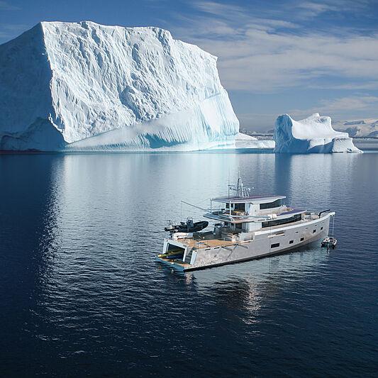 Arksen 85/01 yacht exterior design