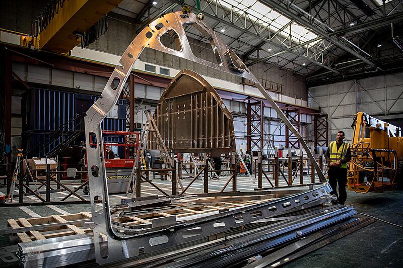 Project Ocean Arksen 85/01 yacht in build