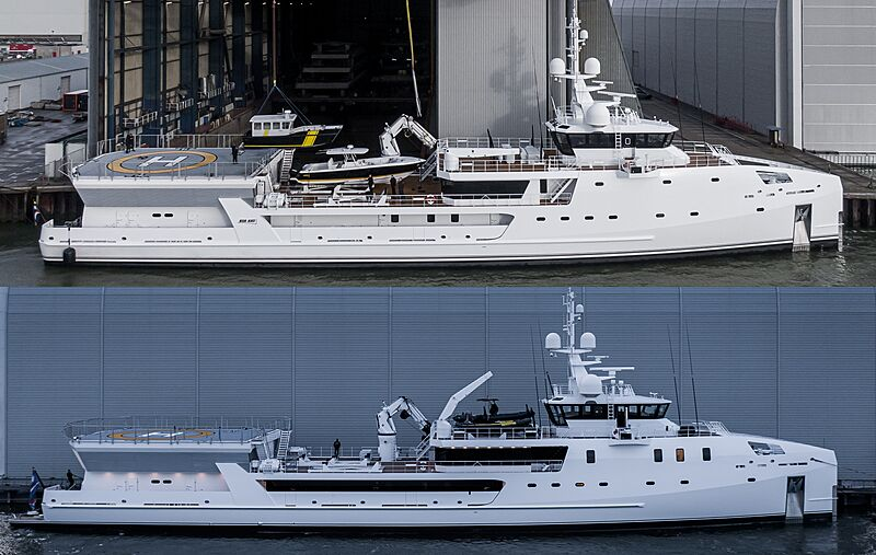Game Changer before and after 2020 refit