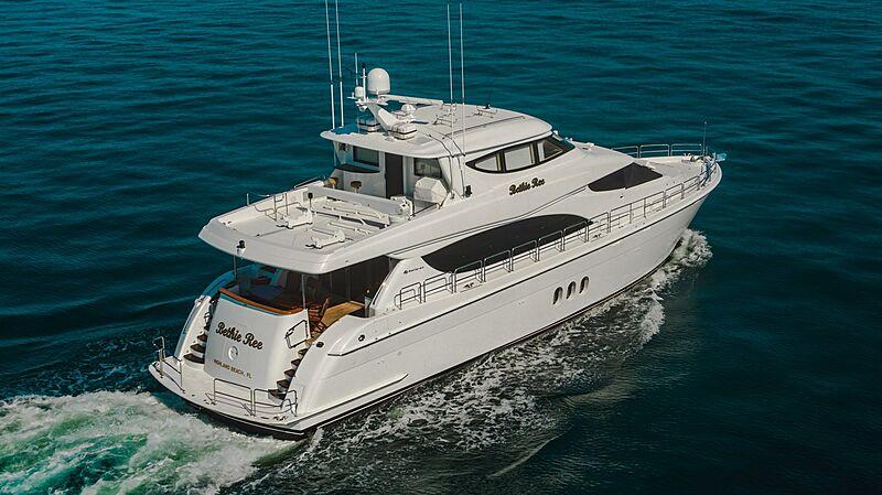 Bethie Ree yacht cruising