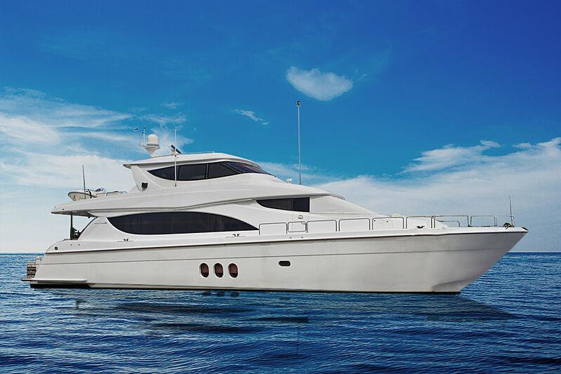 La Mer yacht anchored
