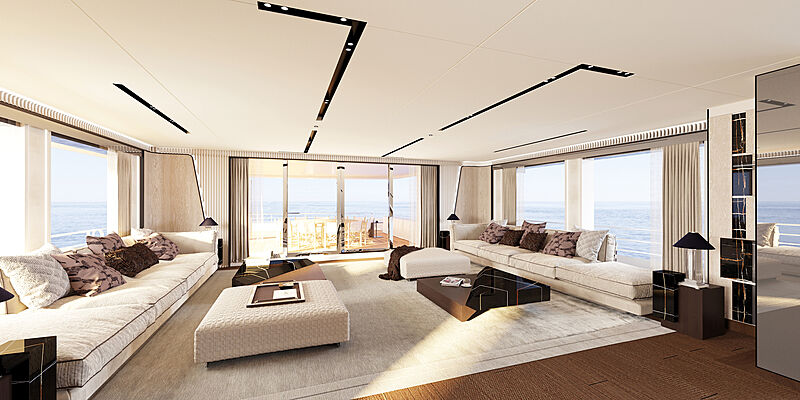 CRN 138 yacht interior design