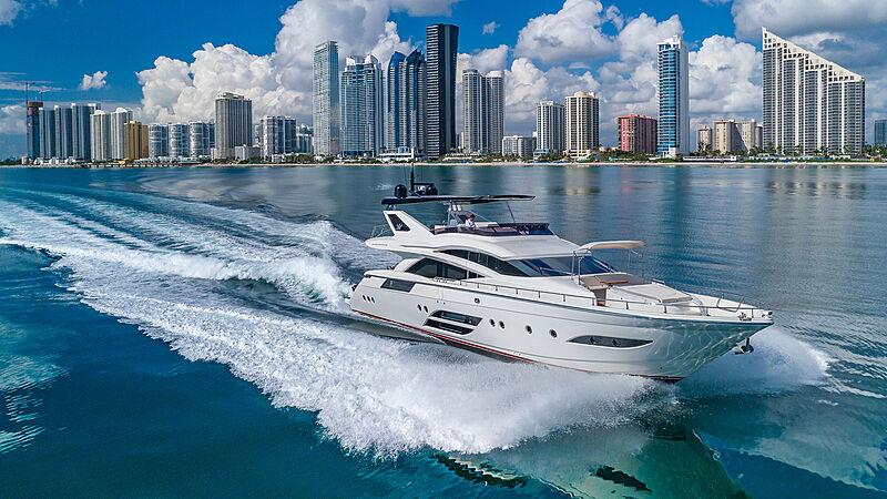 Golden 3 yacht cruising