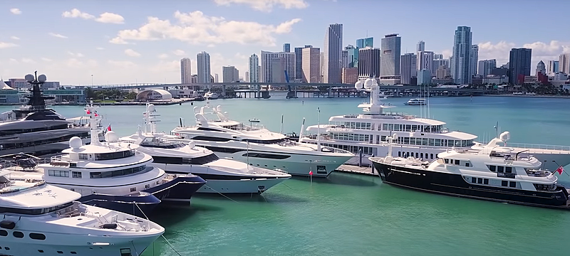 Yacht Haven Grande Miami marina