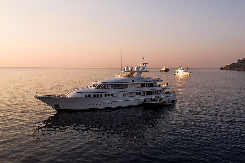 Herculina yacht by Feadship in Portofino