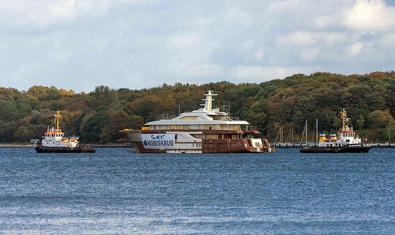Nobiskrug Project 795 yacht hull