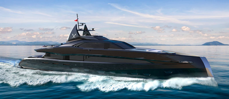 Gotham project by Icon Yachts