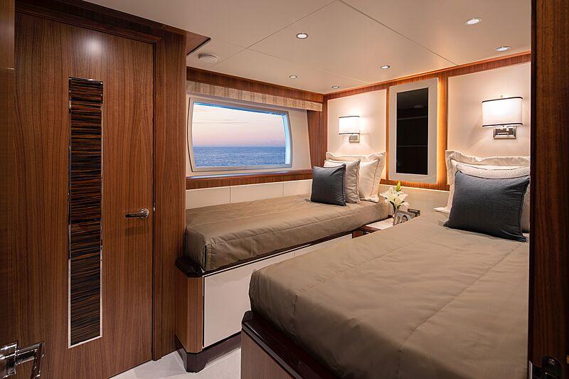 Eileen's Way yacht stateroom