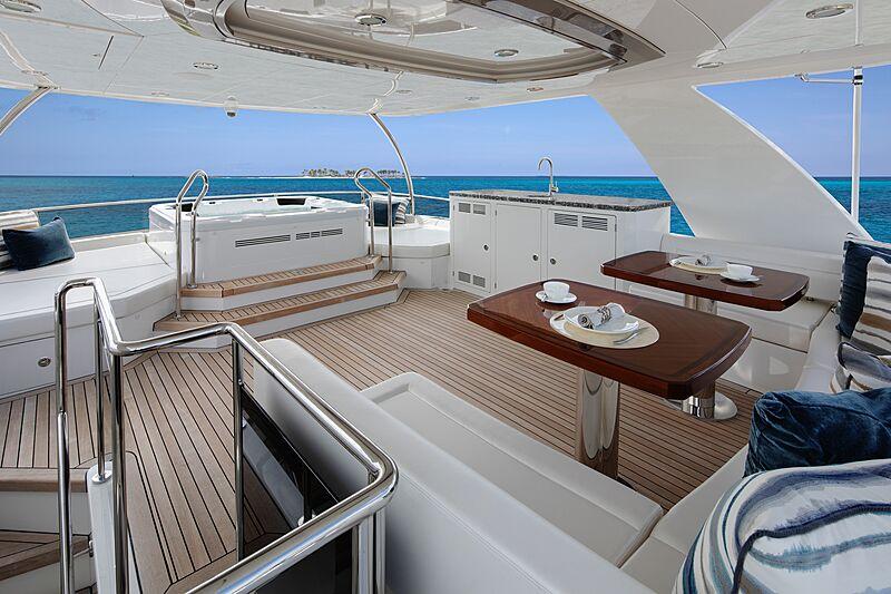 Eileen's Way yacht Sky Deck