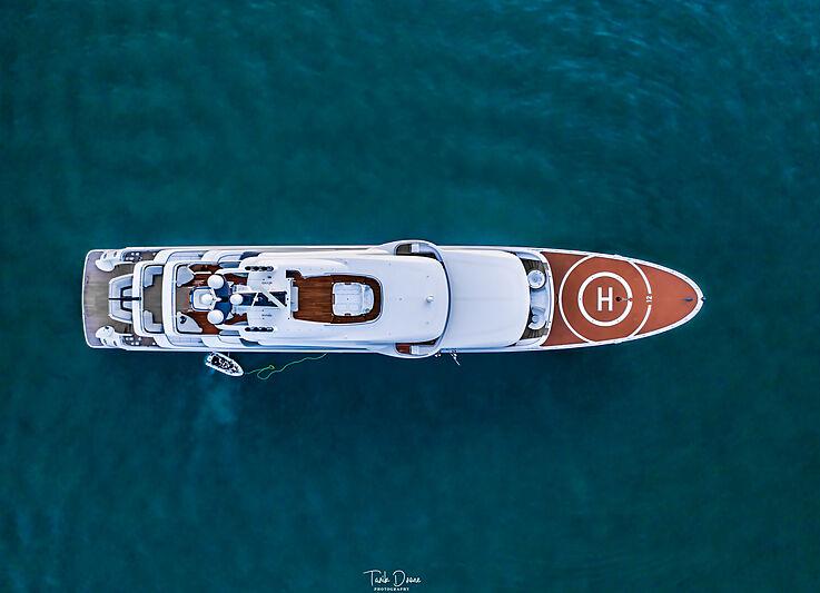 Amatasia yacht by Lürssen in Phuket, Thailand
