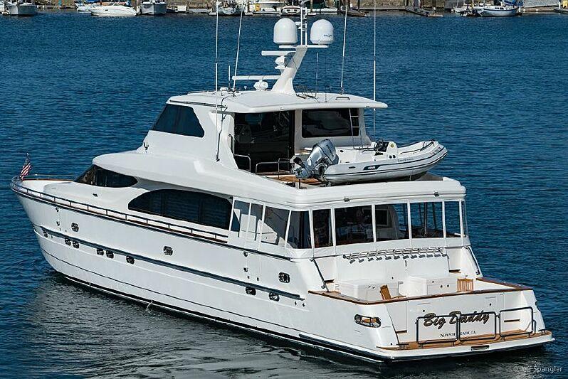 Big Daddy yacht anchored
