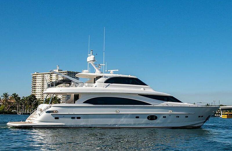 MISS CHRISTINE yacht Horizon
