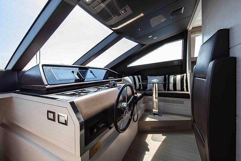 Balance yacht wheelhouse