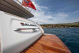 Balance yacht name plate